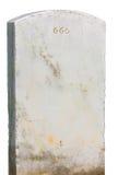 Grafsteen 666 Stock Foto's