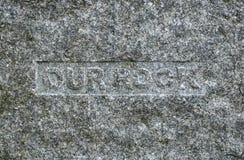 Grafsteen stock afbeelding