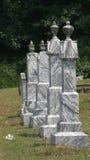 Grafstenen Royalty-vrije Stock Afbeeldingen