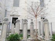 Grafstenen van Ottomanedames royalty-vrije stock foto