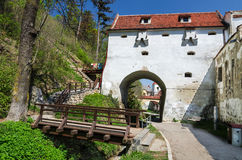 Graft Bastion, Brasov medieval city, Romania Stock Image