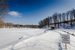 Grafton池塘- Grafton,佛蒙特 免版税库存照片