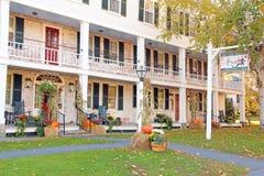 Grafton, πανδοχείο VT και ταβέρνα το φθινόπωρο Στοκ Εικόνα