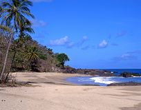 Grafton beach, Tobago. Royalty Free Stock Photography