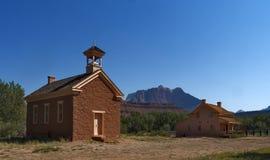 Grafton Ghost Town, Utah, de V.S. stock foto's