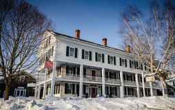 Grafton Inn - Grafton, VT. Founded in 1801, the historic Grafton Inn is a quintessential Vermont country inn royalty free stock image