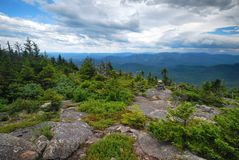 Grafton Notch State Park in Maine. Mountains in Grafton Notch State Park in Maine Stock Images