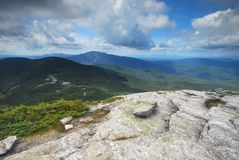 Grafton Notch State Park in Maine. Mountains in Grafton Notch State Park in Maine Stock Photos