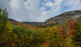 Grafton Notch State Park. A view of fall color in Grafton Notch State Park near Bethel, Maine Stock Photography