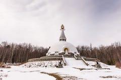 Grafton pokoju pagoda - Petersburgh, NY Zdjęcie Stock
