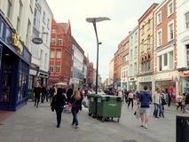Grafton street. In Dublin, Ireland Stock Image