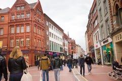 Grafton Street Dublin Stock Photo