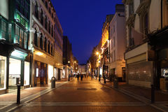 Grafton Street South End Royalty Free Stock Photos