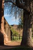 Grafton Utah spökstad Arkivbilder