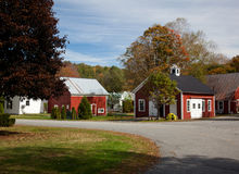 Grafton village in Fall Stock Photos