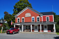 Grafton, VT: Δημαρχείο & U S Isometric κτήριο Στοκ Εικόνες