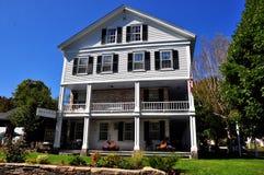 Grafton, VT: 1801 Grafton Inn anziano Immagini Stock Libere da Diritti