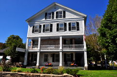 Grafton, VT: 1801 oud Grafton Inn Royalty-vrije Stock Afbeeldingen