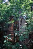 Grafzerk in de Joodse begraafplaats Royalty-vrije Stock Afbeelding