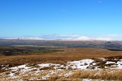 Gragareth, Whernside, Ingleborough, Simon Fell Royalty Free Stock Photo