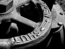 Gragment velho da válvula da água Foto de Stock