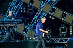 Graham Рассел от подачи воздуха, мелодии петь красивой на Epcot в мире 6 Уолт Дисней стоковое фото