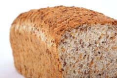 Graham Bread, Bread, Rye Bread, Brown Bread Stock Image