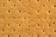 Graham cracker background Royalty Free Stock Images