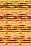 Graham-Cracker-nahtloser Hintergrund Stockfotos