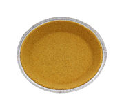 Graham Cracker Pie Crust Royalty Free Stock Images