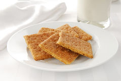 Graham crackers Stock Photos