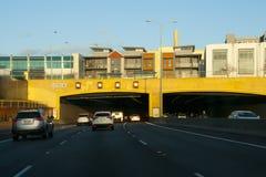 Graham Farmer Freeway Tunnel fotografia de stock royalty free