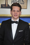 Graham Moore. LOS ANGELES, CA - FEBRUARY 14, 2015: Graham Moore, writer of The Imitation Game, at the 2015 Writers Guild Awards at the Hyatt Regency Century Stock Photo