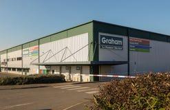 Graham Plumberss supplies stock photo
