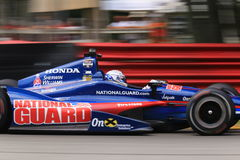 Graham Rahal on the track. Indy Car Driver Graham Rahal drives for Rahal Letterman Lanigan Racing team Royalty Free Stock Image