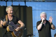 Graham Russell and Russell Hitchcock Air Supply Stock Images