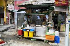 Graham Street  Market, Hong Kong Royalty Free Stock Photos