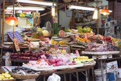Graham Street  Market, Hong Kong Royalty Free Stock Images