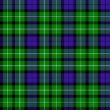 Graham tartan. This Graham of Montrose tartan has been dated to 1815 Stock Image