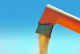 Grain Auger Royalty Free Stock Photo