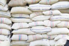 Grain bags Royalty Free Stock Image