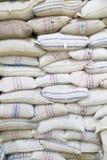 Grain bags Stock Photos