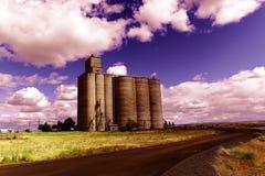 Grain bin Royalty Free Stock Images