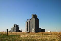 Grain bins Royalty Free Stock Photo