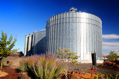 Grain Bins Stock Images