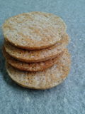 Grain biscuits Royalty Free Stock Photos