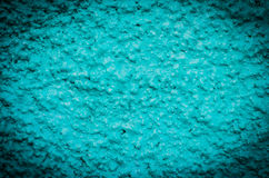 Grain blue paint wall background Royalty Free Stock Image
