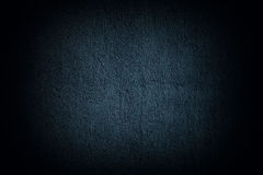 Grain blue paint wall background Royalty Free Stock Photos