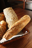 Grain Bread. A basket of grain bread Stock Images