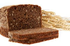 Grain bread and cereals Royalty Free Stock Photos